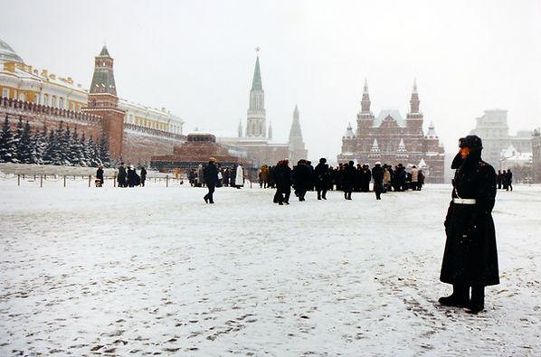 Moskau Roter Platz 1990