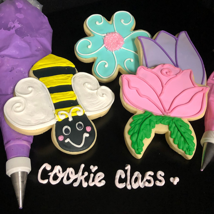 Cookie Decorating Class - Flower 1:00pm
