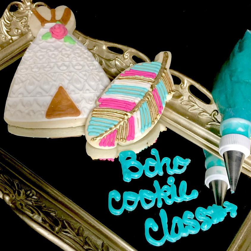 Cookie Decorating Class - Boho 1:00 p.m.