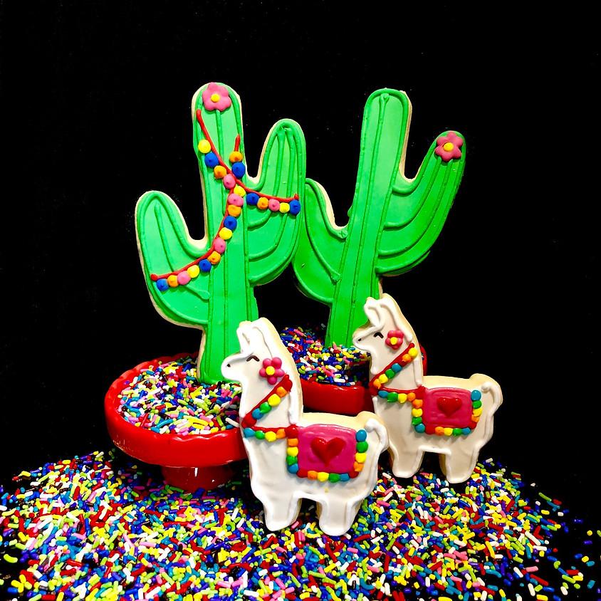 Cookie Decorating Class - Llamas & Cacti 4:00pm