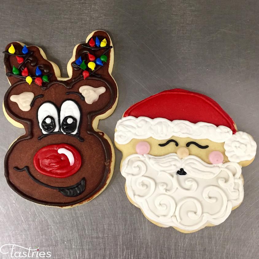 Cookie Decorating Class - Santa & Reindeer