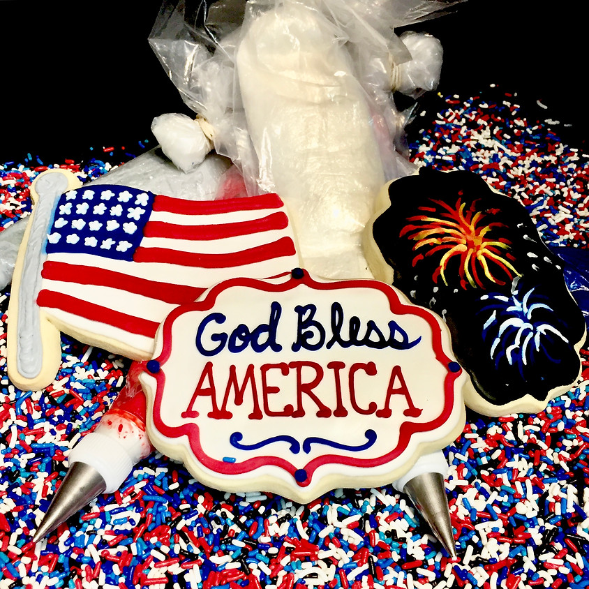 Cookie Decorating Class - God Bless America 5:30 p.m.