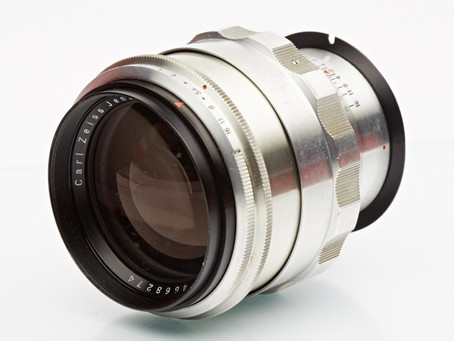 Carl Zeiss Jena Biotar 1.5/75mm