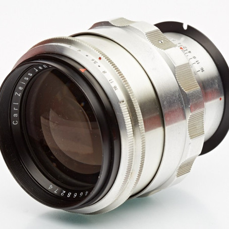 Carl Zeiss Jena Biotar 1.5/75mm