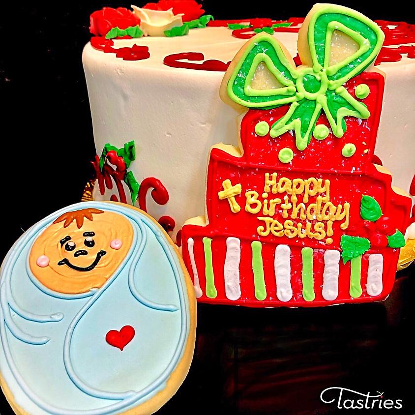 Cookie Decorating Class - Happy Birthday Jesus!!!