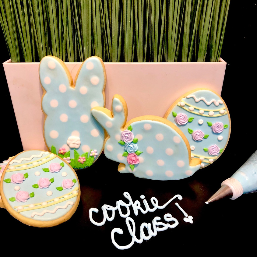 Cookie Decorating Class - Polka Dot Bunny & Easter Egg (2)