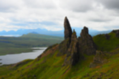 Schottland Skye Old Man of Storr