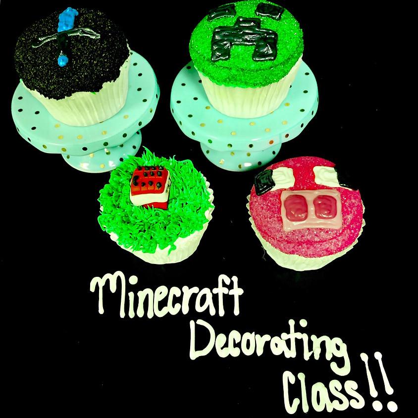 Cupcake Decorating Class - Minecraft 2:30pm