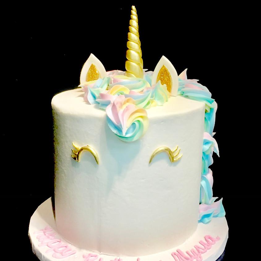 Cake Decorating Class - Unicorn Cake 10:30 a.m.