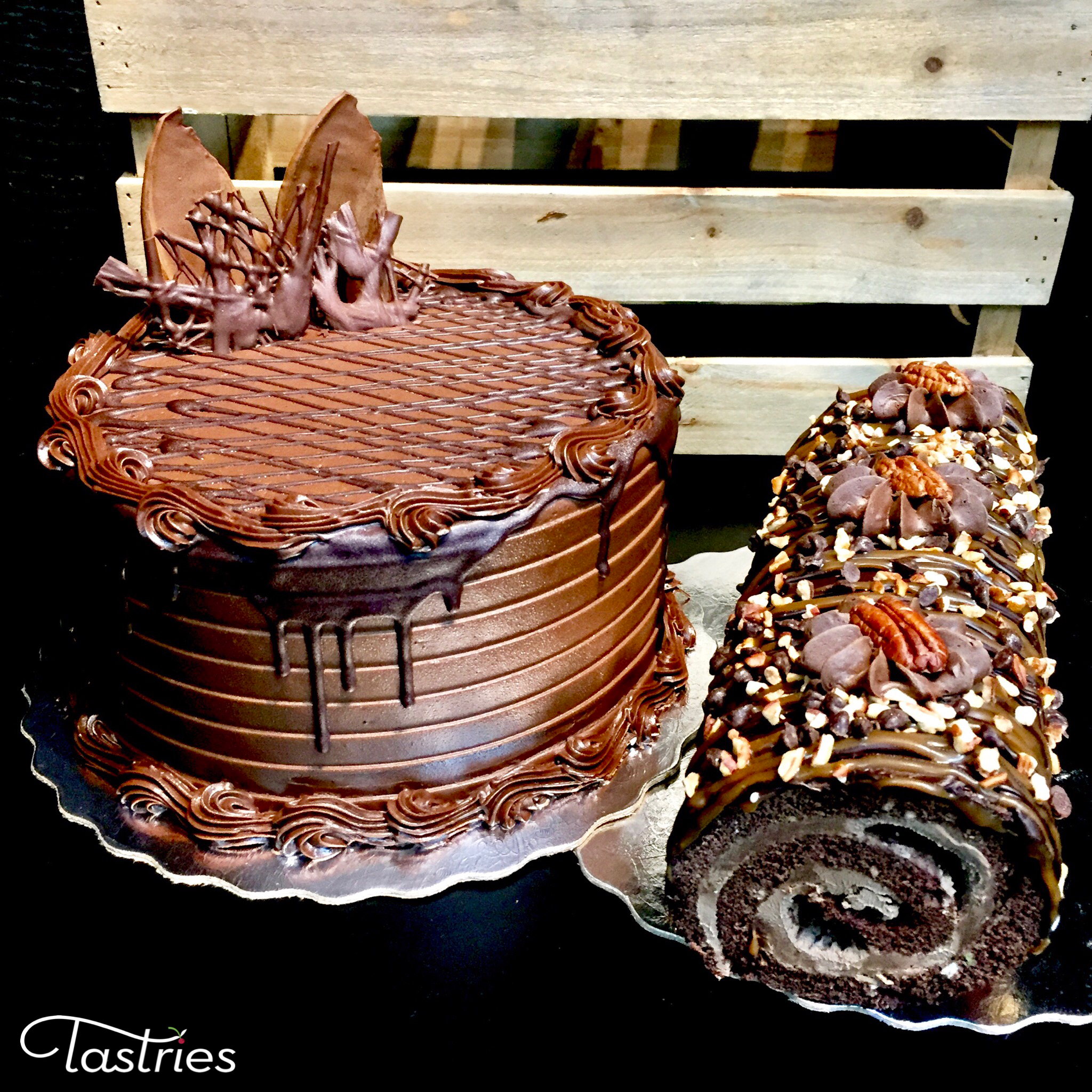 Chocolate Lovers Cake in Bakersfield