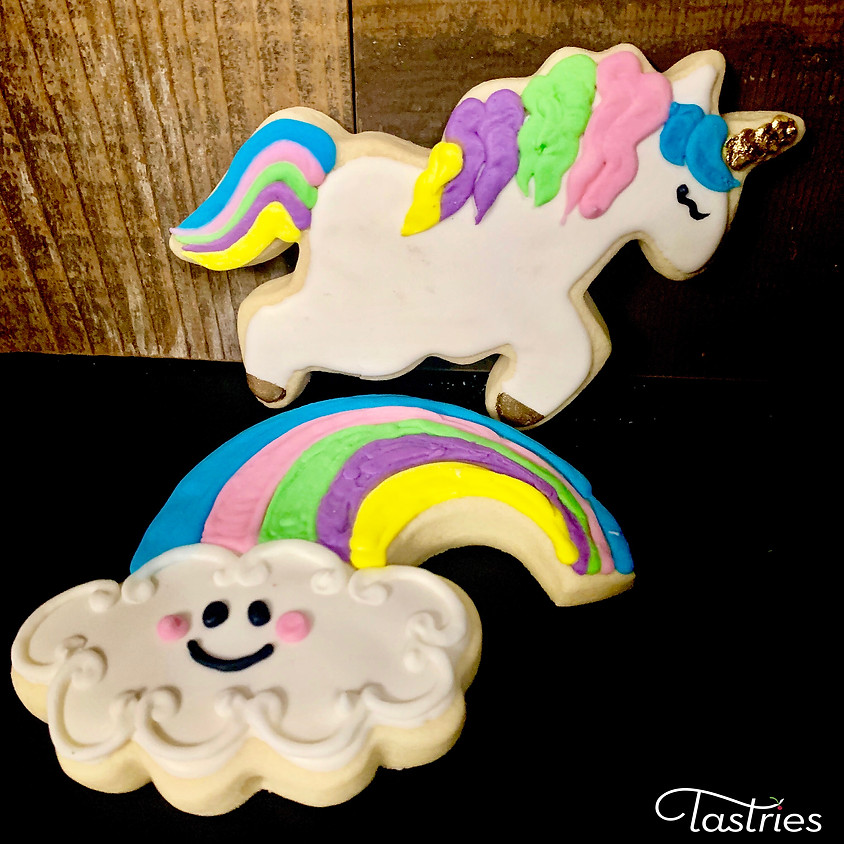 Cookie Decorating Class - Unicorn & Rainbows 1:00pm