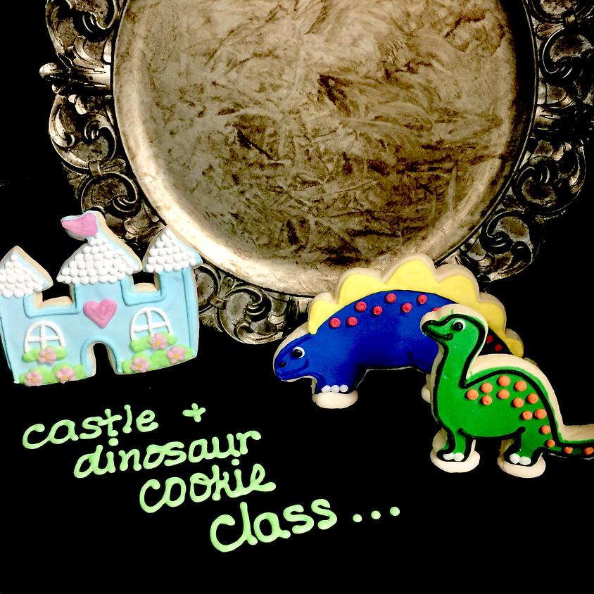 Cookie Decorating Class - Dinosaurs & Castles 1:00 p.m.
