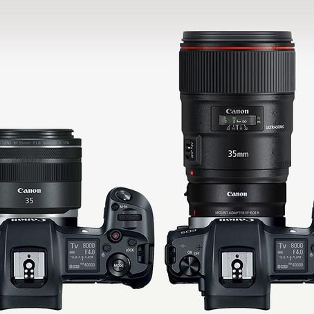 Zum Spass - Vergleich EF 35mm L 1.4 mkII mit RF 35mm 1.8 Macro IS STM