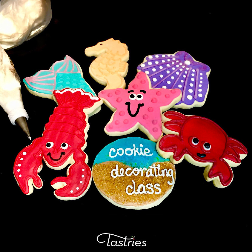 Cookie Decorating Class - Under the Sea 12:00 p.m.