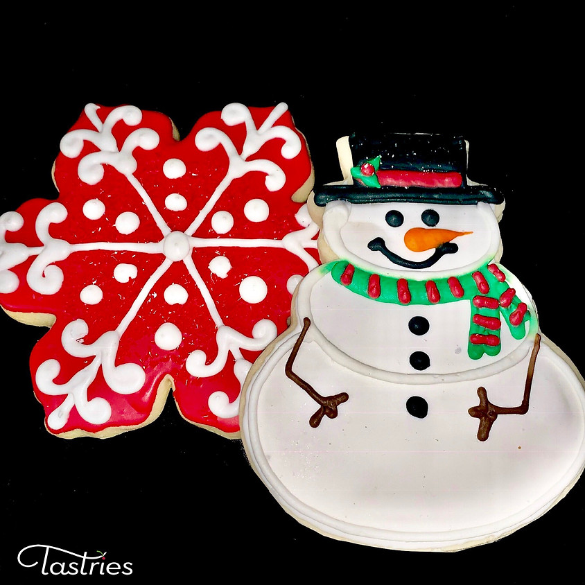 Cookie Decorating Class - Snowman & Snowflake