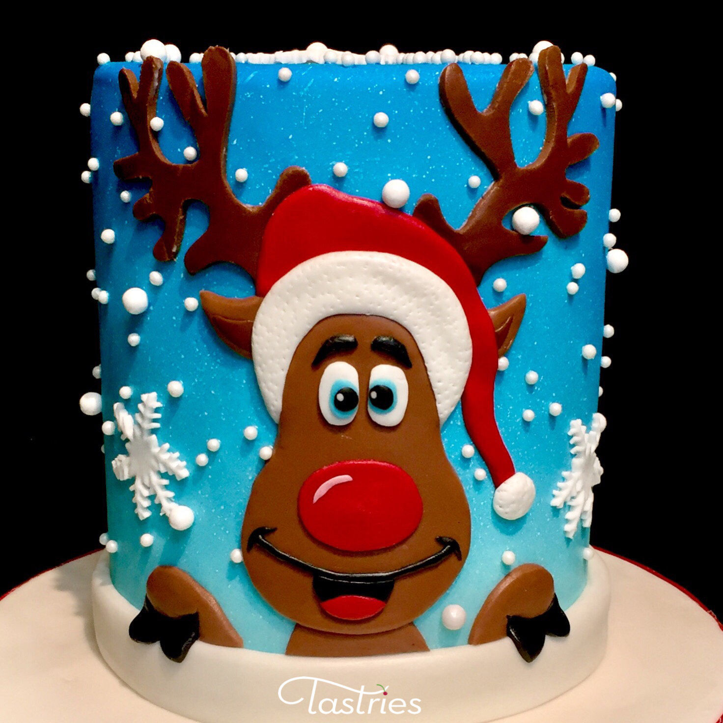 Rudolph Cake, Tastries Bakery