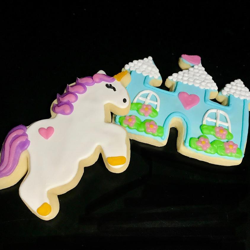 Cookie Decorating Class - Unicorns & Castles 5:30 p.m.