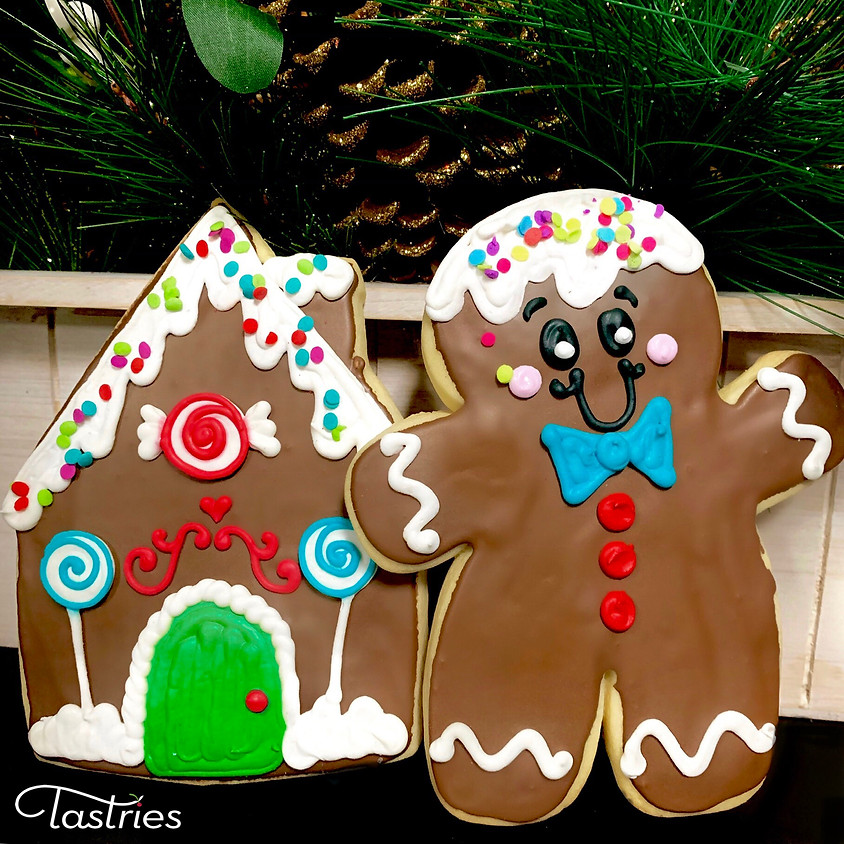 Cookie Decorating Class - Gingerbred House & Gingerbread Man
