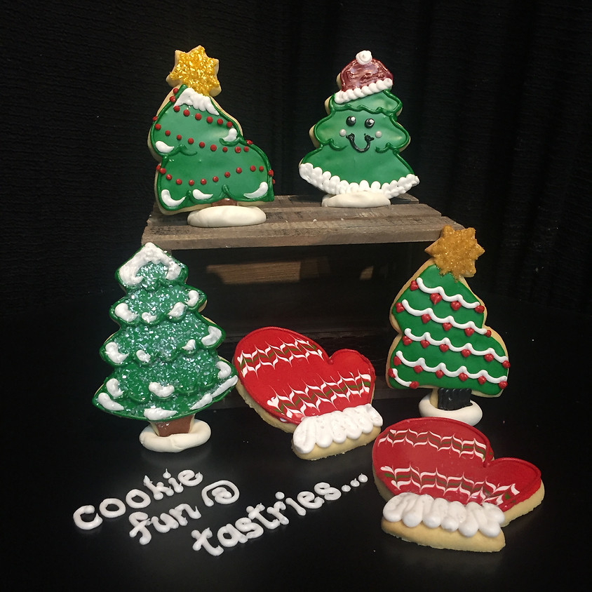 Cookie Decorating Class - Christmas Tree & Mittens