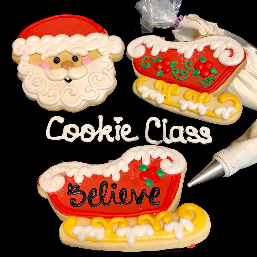 Cookie Decorating Class -Santa and his Sleigh 12:00 p.m.
