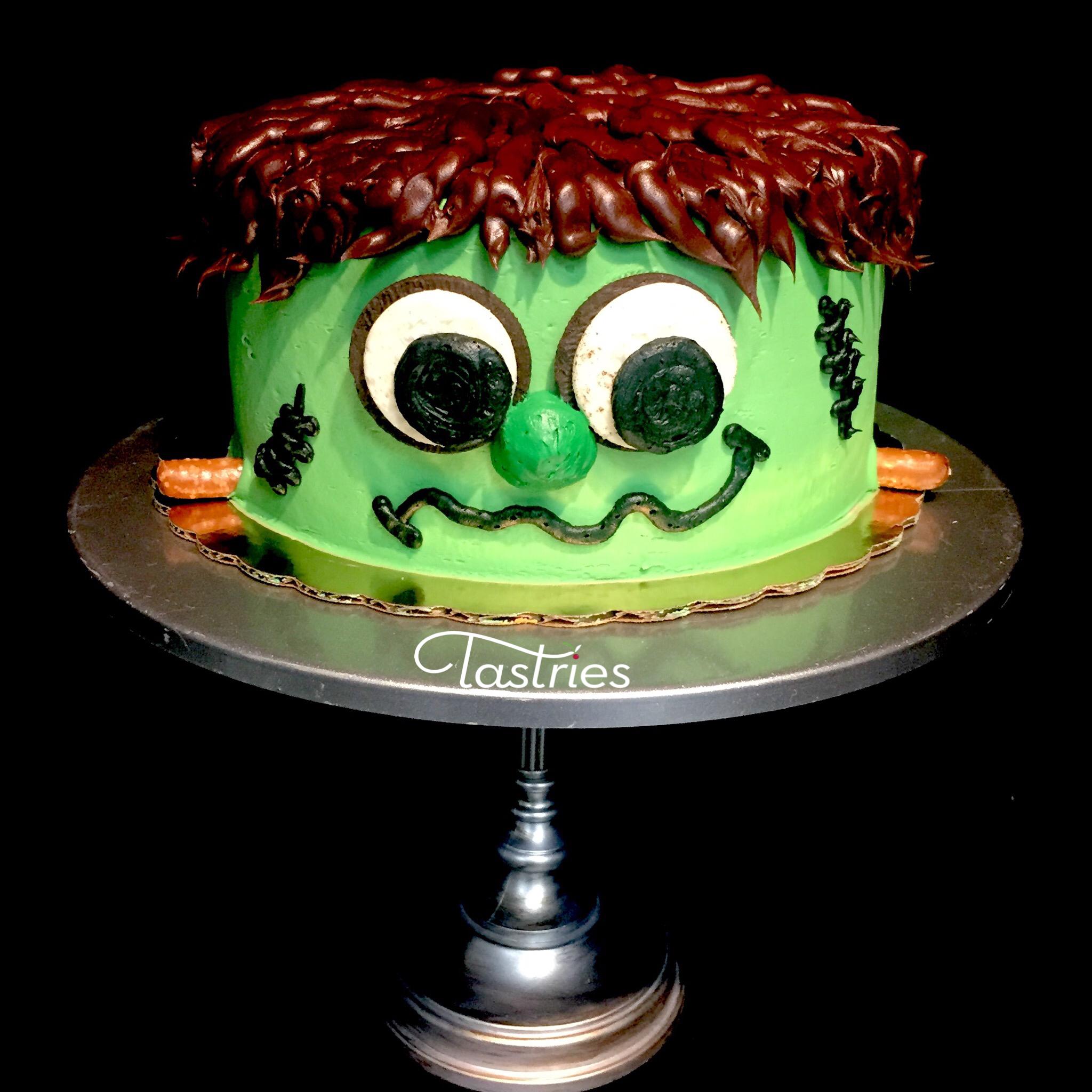 Cute Frankenstien Dessert Cake
