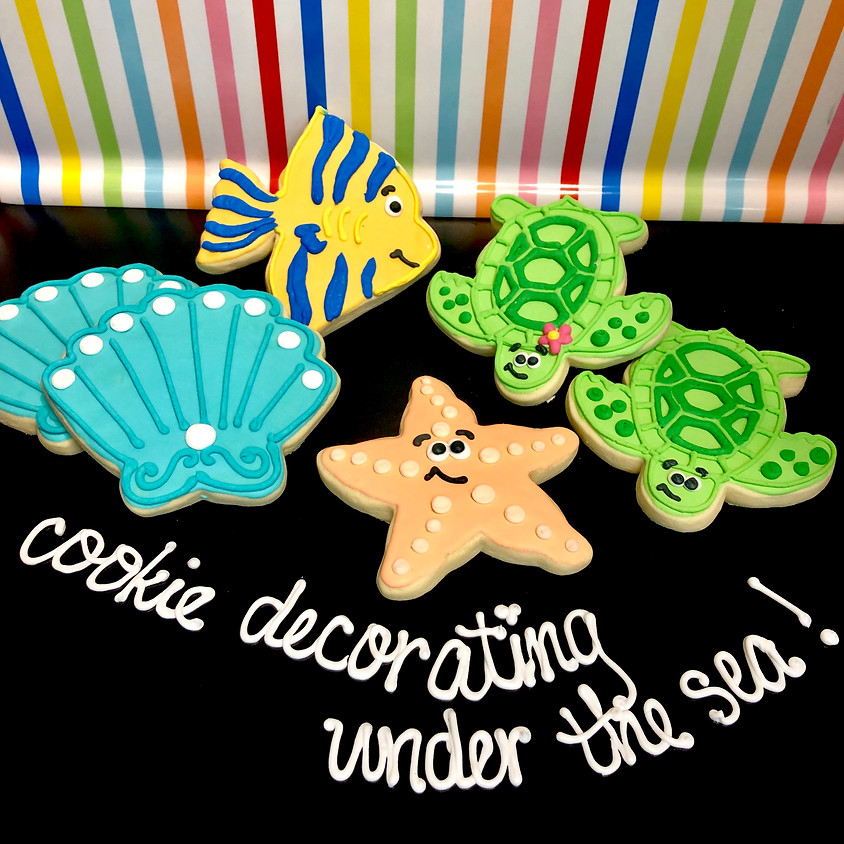 Cookie Decorating Class - Shells & Fish 4:00pm