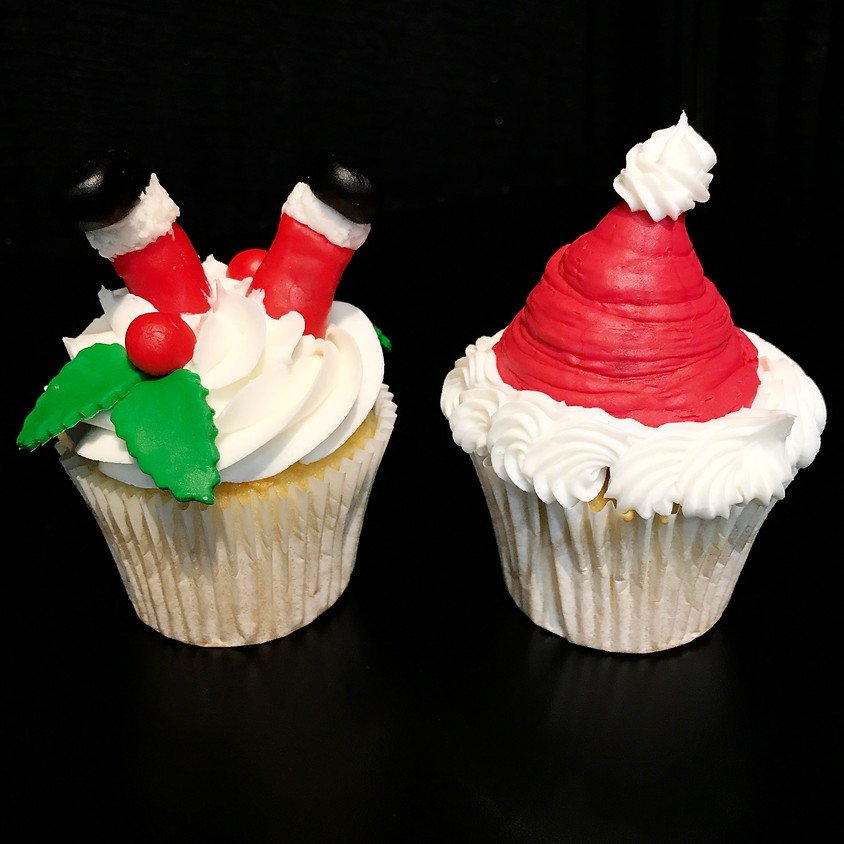 Cupcake Decorating Class - Santa Clause is Coming to Town