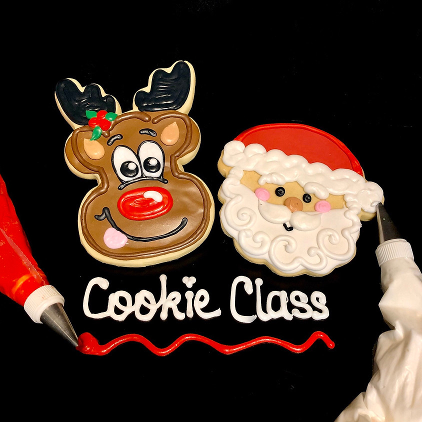 Cookie Decorating Class - Santa and Rudolph 11:00 a.m.