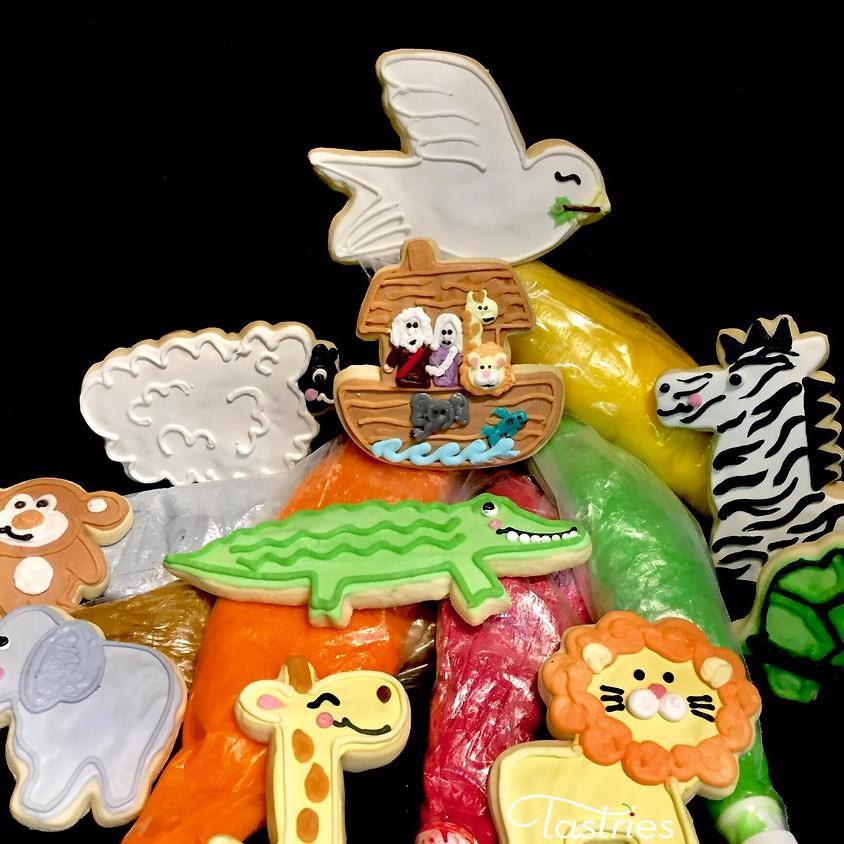 Cookie Camp - Noah's Ark Decorating Classes 5:30 pm