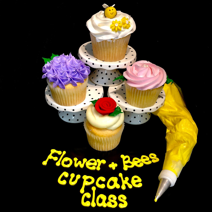 Cupcake Decorating Class - Flowers 2:30pm