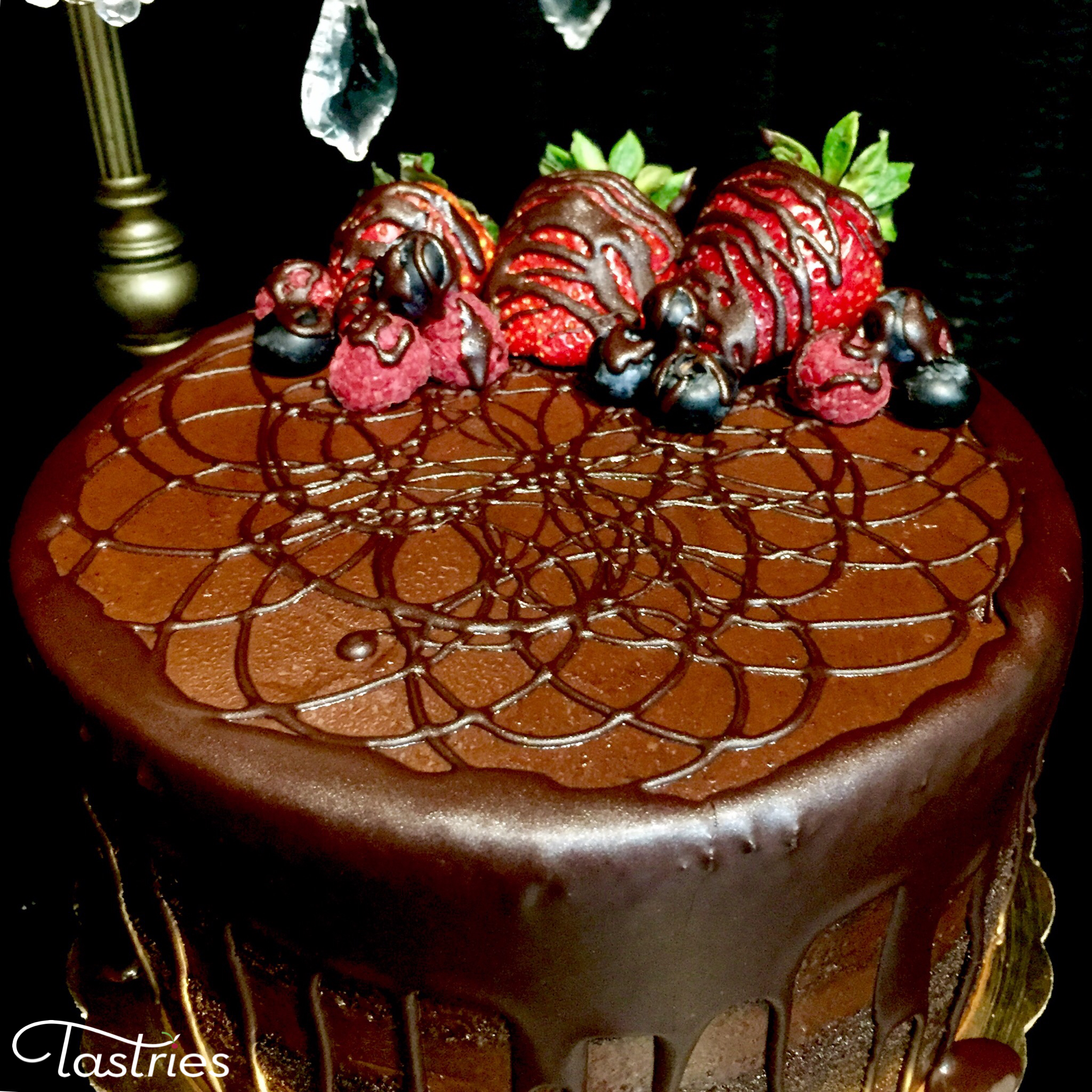 Chocolate Lovers Dessert Cake