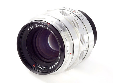 Carl Zeiss Jena Biometar T 2.8/80mm