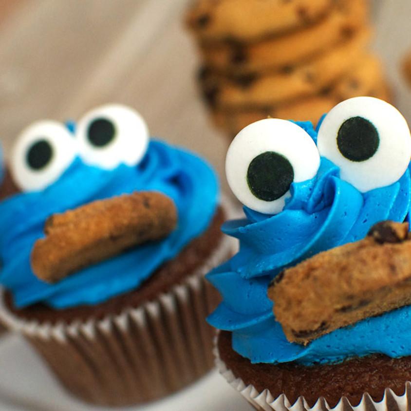 Cupcake Decorating Class - Cookie Monster / Pumpkin Patch