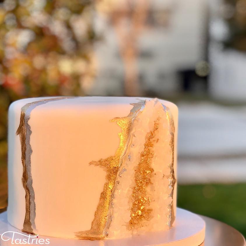 Cake Decorating Class - Fondant Crystal Geode 11:00am