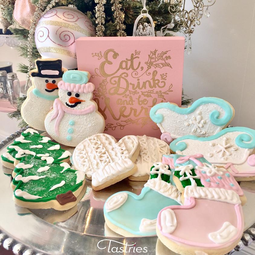 Cookie Decorating Class - Snowman & Sleigh