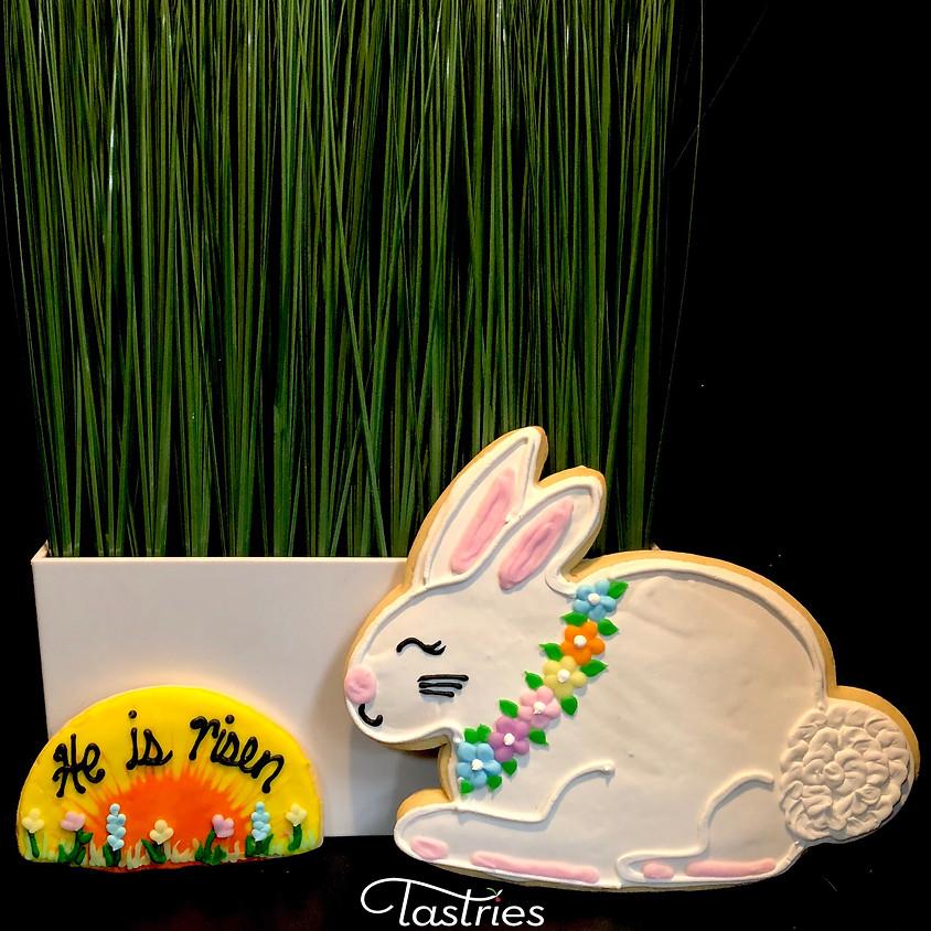 Cookie Decorating Class - He is Risen & Big Bunny (1)