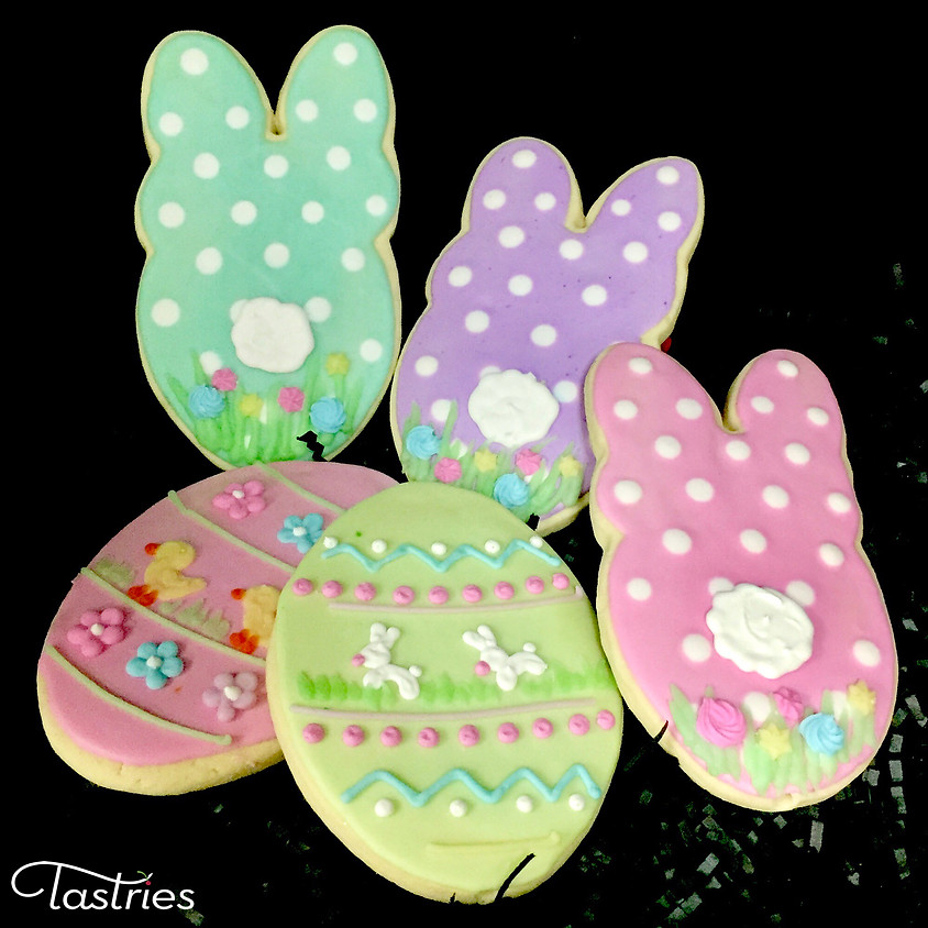 Cookie Decorating Class - Polka Dot Bunny & Easter Egg