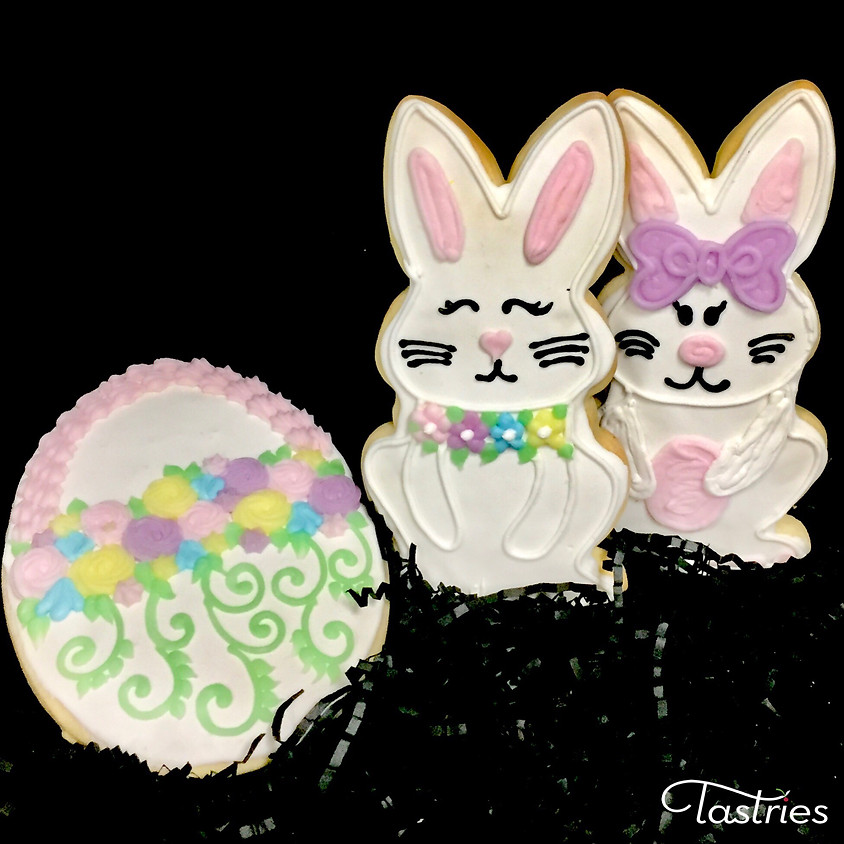 Cookie Decorating Class - Bunny & Egg Basket