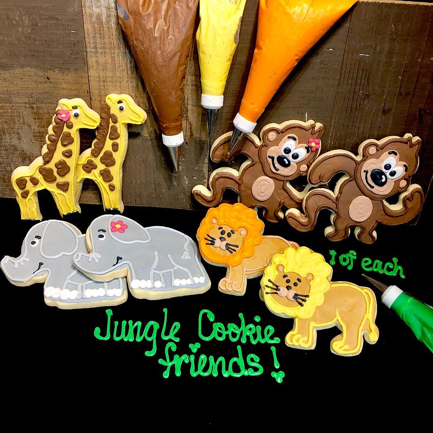 Cookie Decorating Class - Jungle Animals 4:00pm