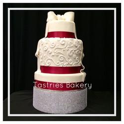 Sparkle Round Cake Stand Rental
