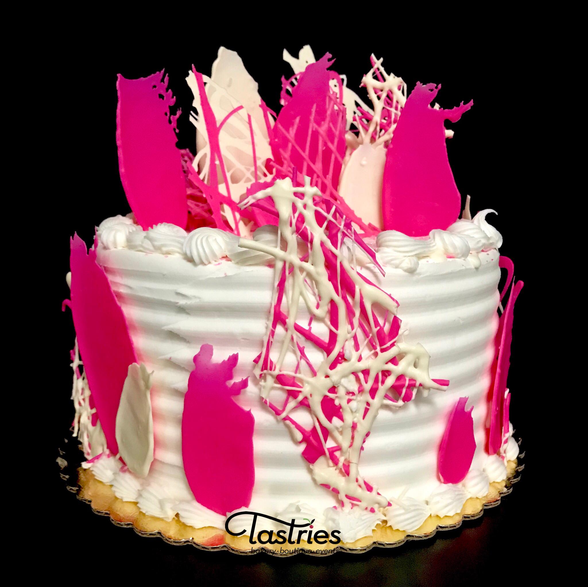 Pink Dessert Cake, Tastries Bakery