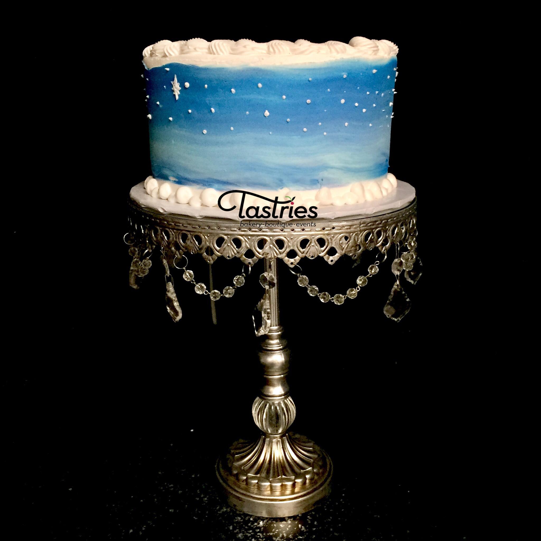Blue Winter Dessert Cake, Tastries