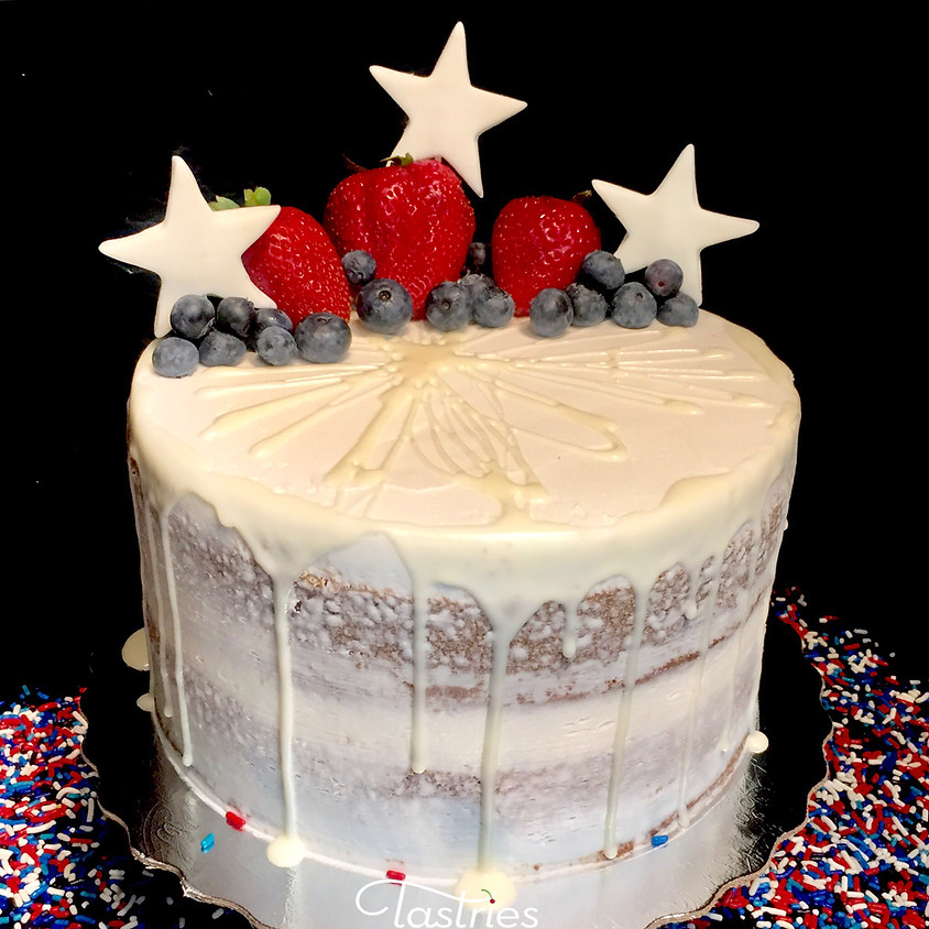 Cake Decorating Class - Naked Cake with Drip 2:00 p.m.