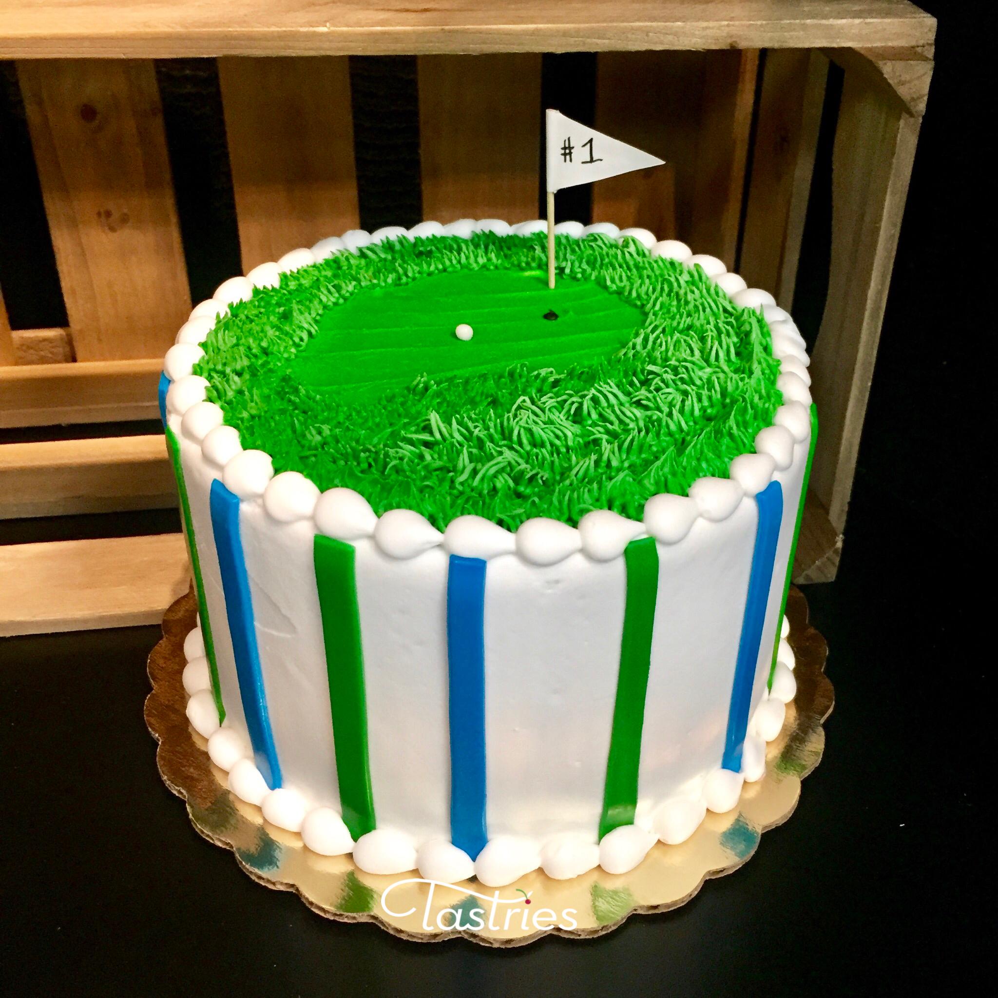 Golf Dessert Cake, Bakersfield CA