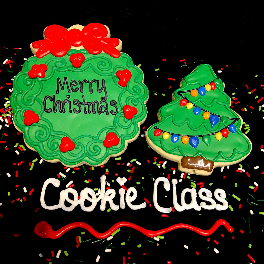 Cookie Decorating Class - Christmas Tree and Wreath 3:00 p.m.