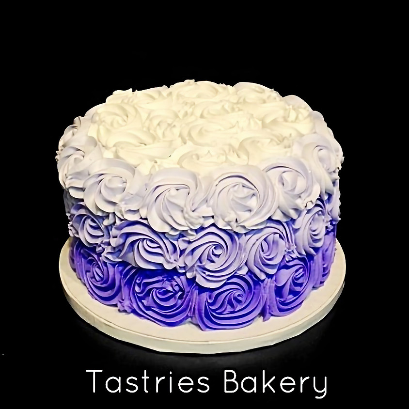 Cake Decorating Class - Ombre Rosette 5:30pm