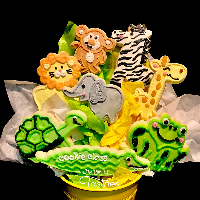 Cookie Decorating Class - Sweet Safari 12:00 p.m.