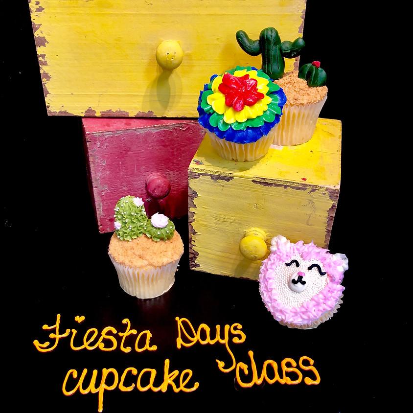 Cupcake Decorating Class - Fiesta 2:30pm