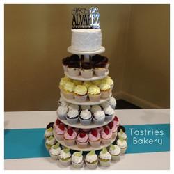 Round Cupcake Tower Rental