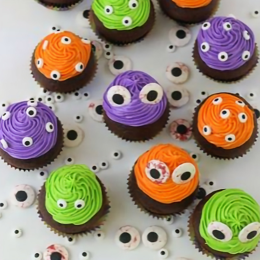 Cupcake Decorating Class - It's a Monster's Life